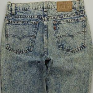 VTG Levi's 506 Student Fit Jeans Mens 29x32 A155J